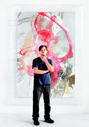 O'Neal in his studio with  Any Available Associate