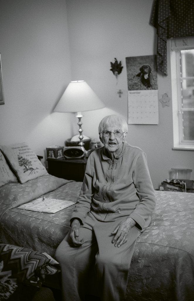 Mae Phillips, 104