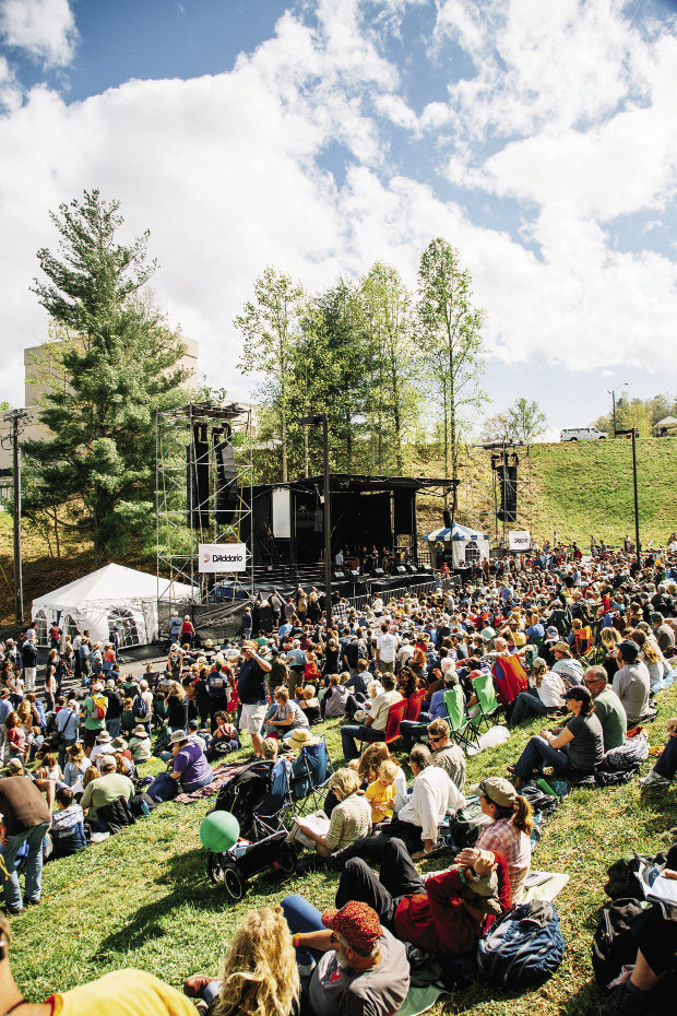 Music Notes: MerleFest, first organized in 1988 to raise money for the Eddy Merle Watson Garden of the Senses in Wilkesboro, is now the nation's premier bluegrass and Americana  festival