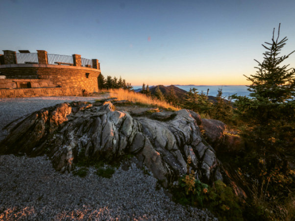 Mount Mitchell State Park: Observation Deck