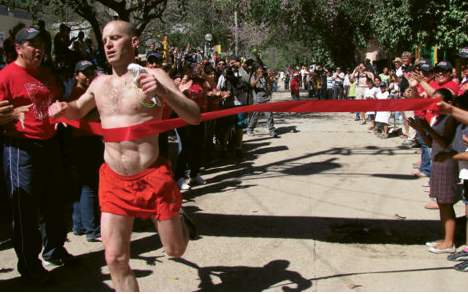 Copper Canyon Ultra, Mexico: In 2009, Harlan placed first in this 50-mile race made famous by the best-selling book Born to Run. Last year's race was cancelled due to drug-related gang violence.
