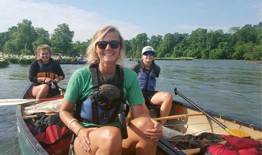 During the annual Voice of the Rivers Expedition, an interdisciplinary squad of students and faculty follow a river from source to sea, documenting their journey via social media and blogs.