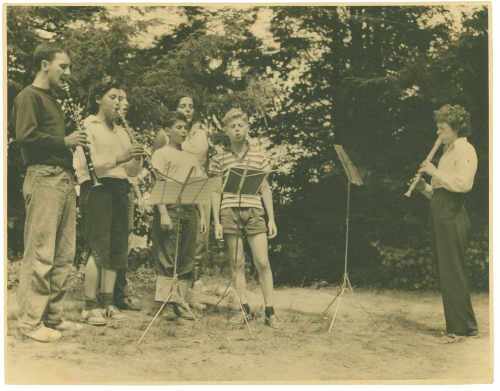 Camp Catawba's founder and director, Vera Lachmann, carried her passion for educating youth in the fine arts from Nazi Germany to the High Country of WNC. Her longtime partner, Tui St. George Tucker, served as Catawba's music director.