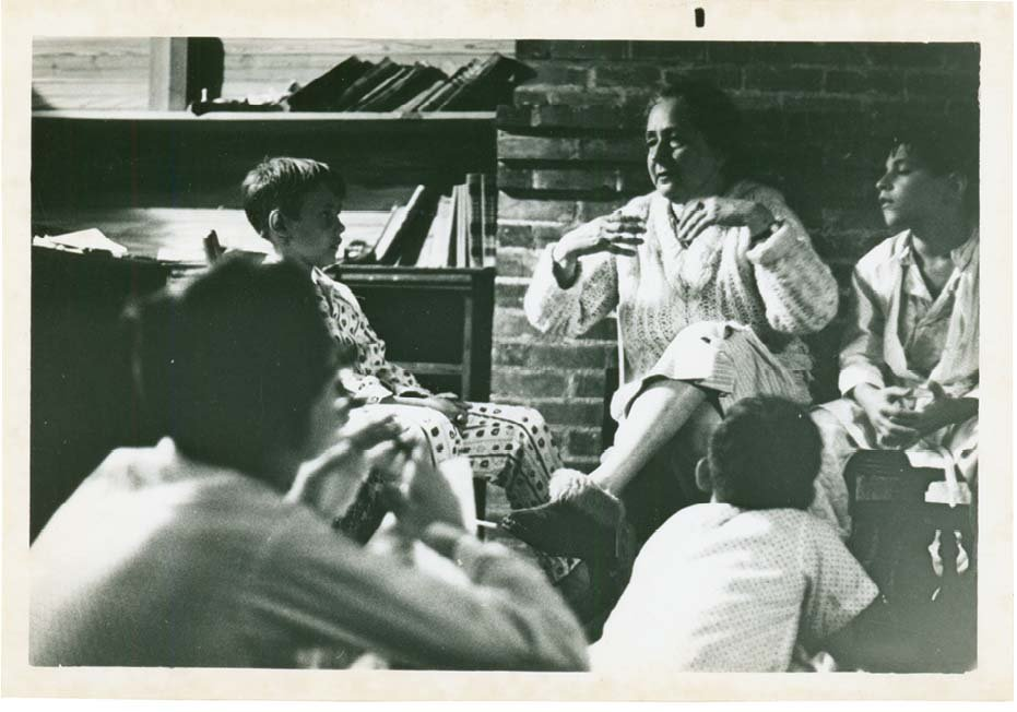 Campers recall being enraptured with Lachmann's storytelling, especially her renditions of Greek classics told as they prepared for sleep.