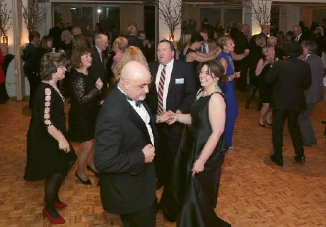 Michael Boles and CFHC event coordinator Wendy Hamil danced the night away.