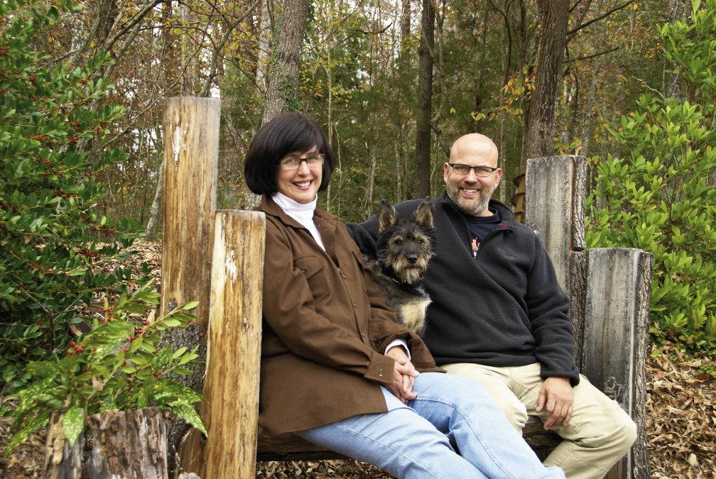 Working as a team, Lynn Gardner and Dean Curfman remodeled their Morganton farmhouse in just four months.