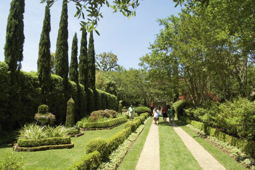 Later in May, as part of the Spoleto Festival, Behind the Garden Gate offers tours of 16 landscapes.
