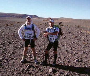 Atacama Crossing Race, Chile: In 2010, Thompson completed this 155-mile, seven-day race across the world's highest and driest desert. Despite having to tote all his gear and temps that hit 110°F, he finished in 59 hours.