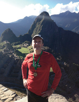 Inca Trail Marathon, Peru: On the famed path most finish in four days, Thompson ran in 11 hours in 2015. The 10,000 feet of elevation gain didn't slow him; he finished 13th.