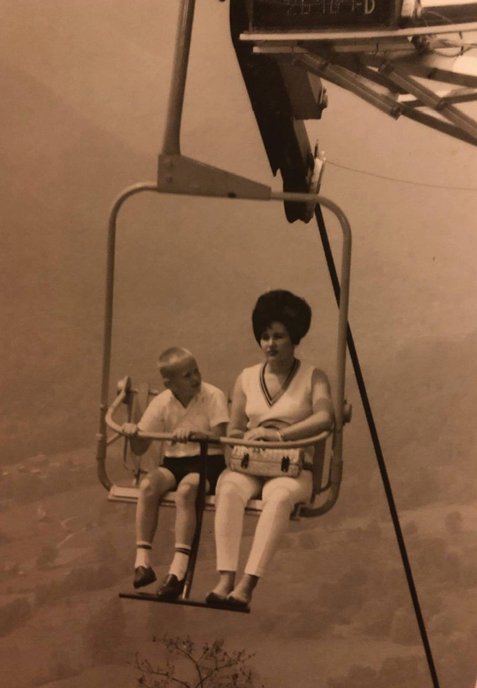 The chairlift to the top of Buck Mountain was only the beginning of the adventure. Ghost Town in the Sky was replete with shows, rides, shops, and pretend shoot-outs that seemed plenty real to young visitors.