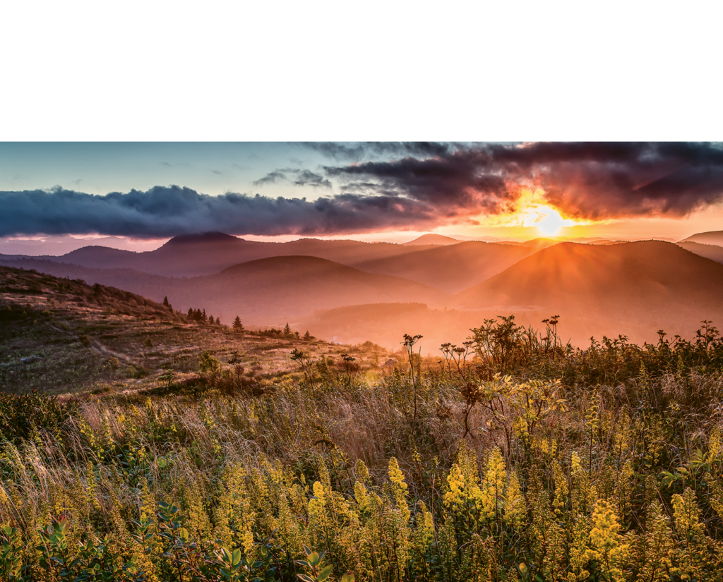 Rob Travis, Sunset in Shining Rock Wilderness Professional category