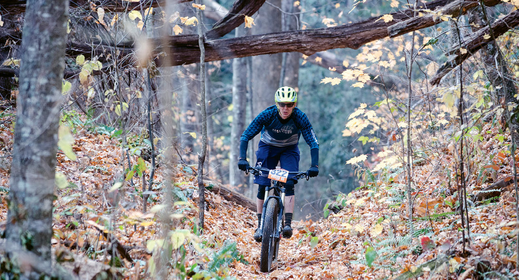 The Swank 65 mountain bike race