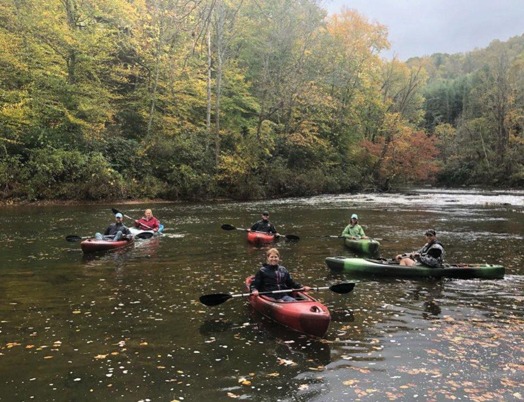 Kayaking with RiverGirl Fishing Co.
