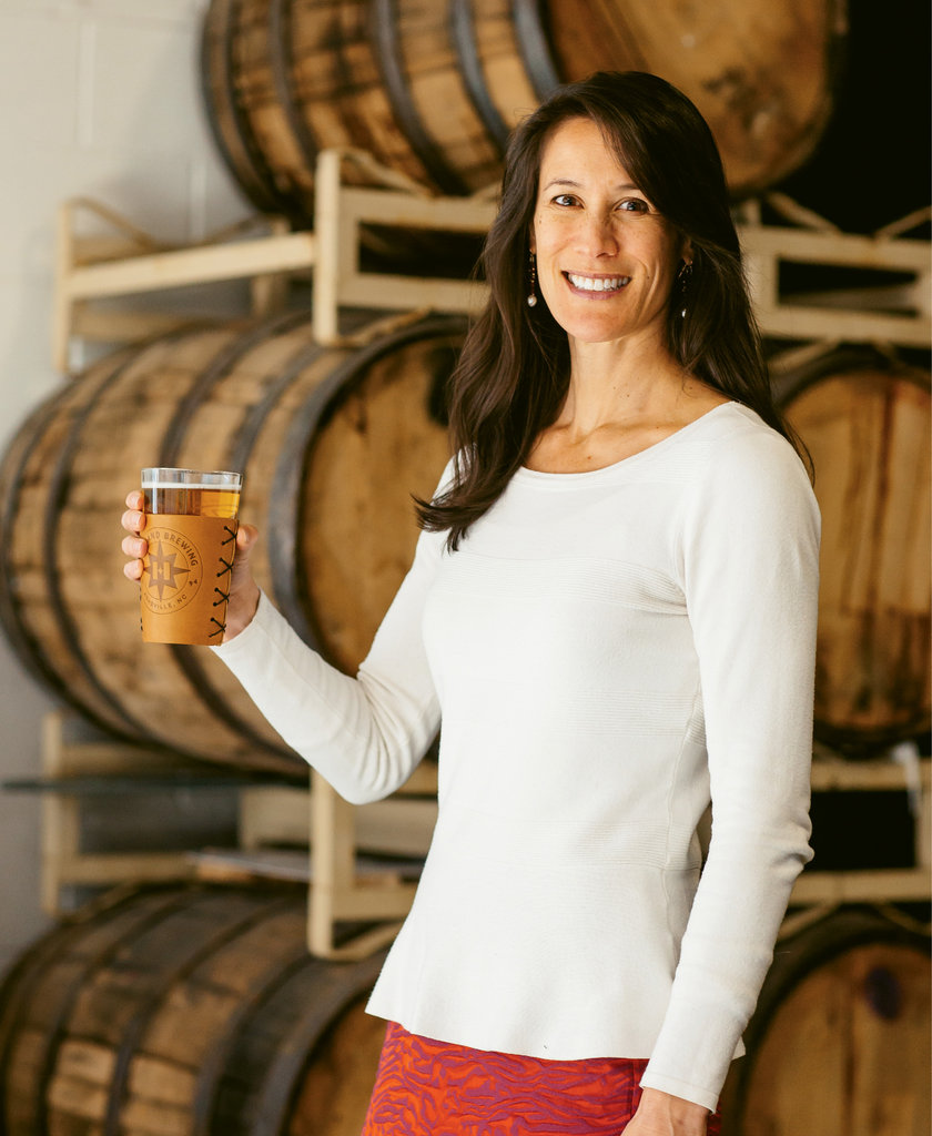 "Beer Me - For Ashburn, ""drinking Highland beer is PR,"" she says, ""and drinking other beer is market research."""