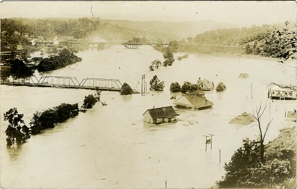 The TVA's plan was born of efforts to control WNC's periodic severe floods. The Great Flood of 1916 devastated Asheville and dozens of other communities.