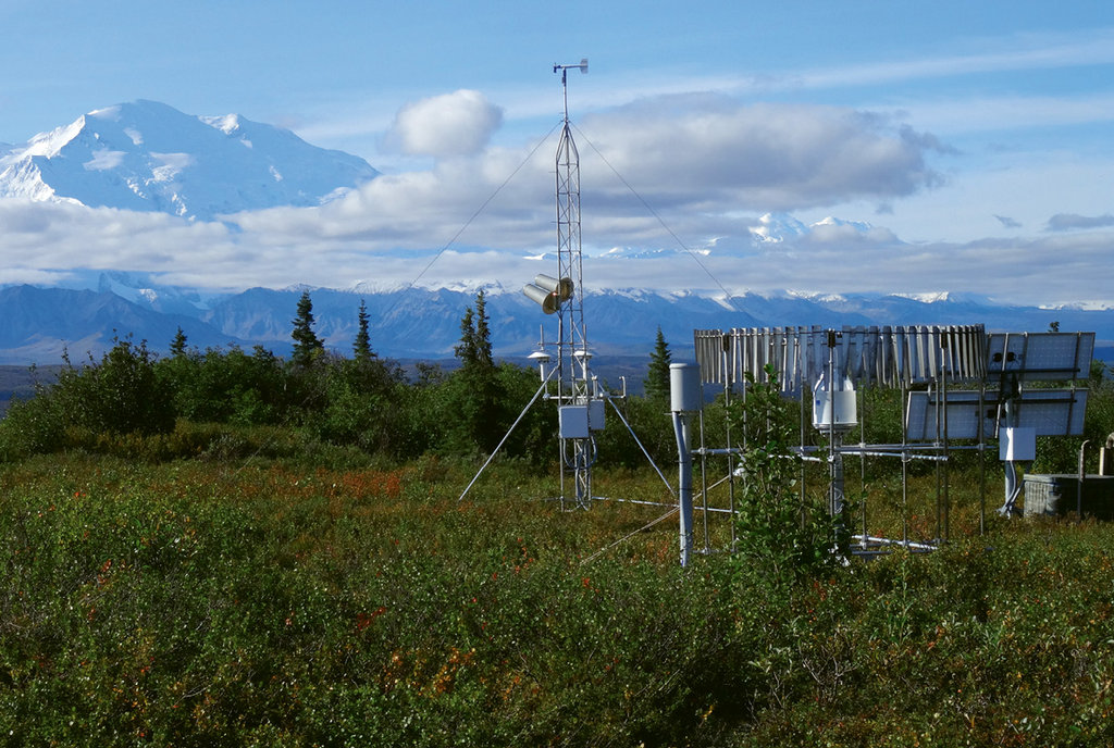 NOAA's National Centers for Environmental Information manages climate monitoring stations that measure a slew of weather-related data at locations across the U.S.