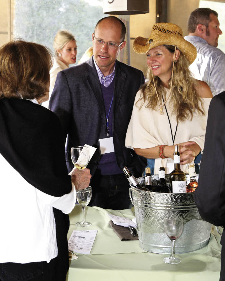 Vignette Cellars' Rob Preiditsch and his wife, Merry