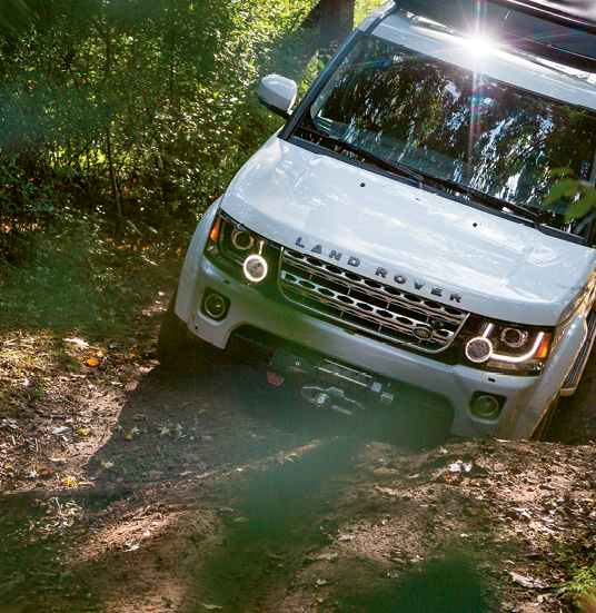 Biltmore's Land Rover Experience. Photo courtesy of The Biltmore Company
