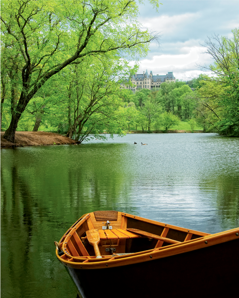 READER'S CHOICE WINNER Biltmore Pond  in Spring by Victoria von Drehle Hecht (Professional category)