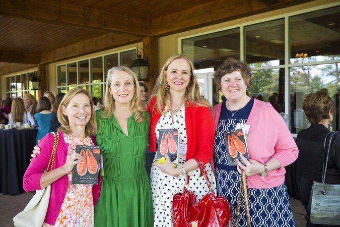 Jill Vargo, Piper Kerman, Karen Sherrill and Kris Gowin