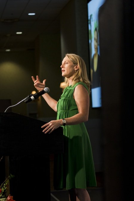 Piper Kerman, author of Orange is the New Black, speaks at the 11th Annual Power of the Purse.