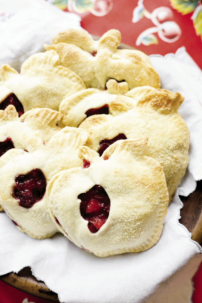 Apple Cranberry Pockets