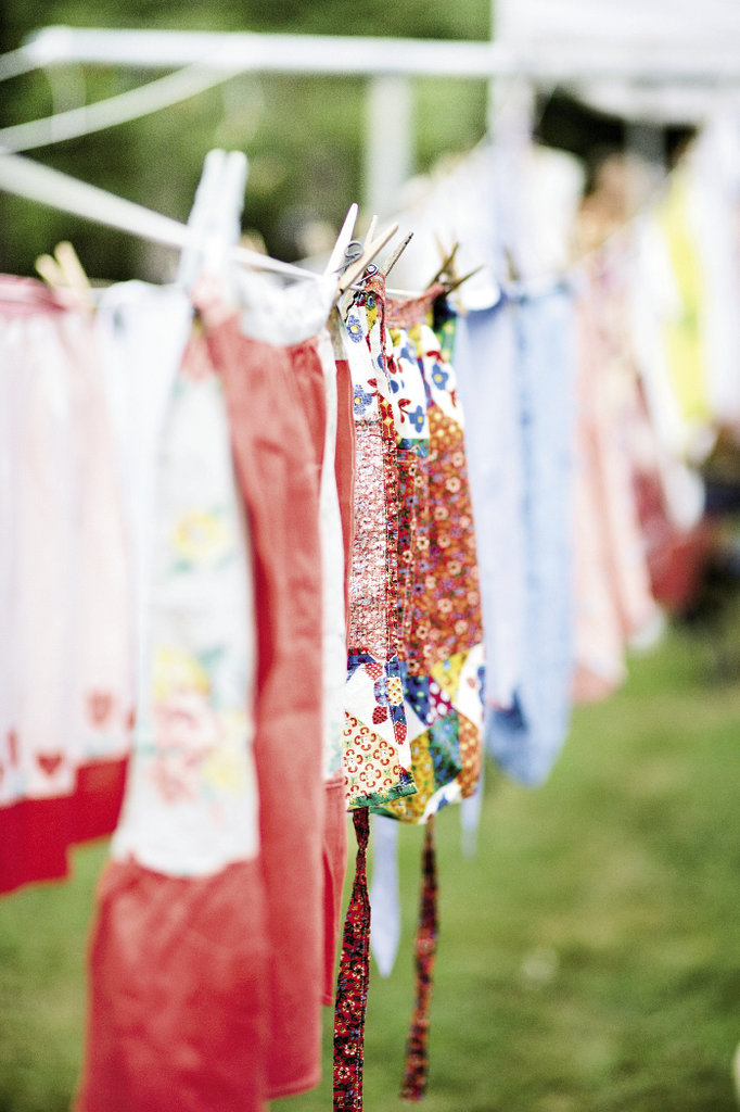Aprons are among the prizes awarded.