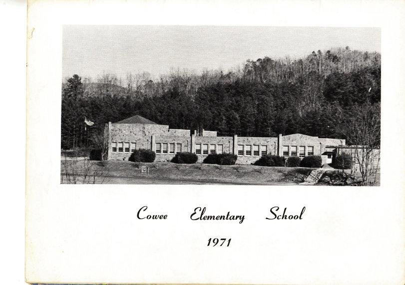 Cowee School, 1971