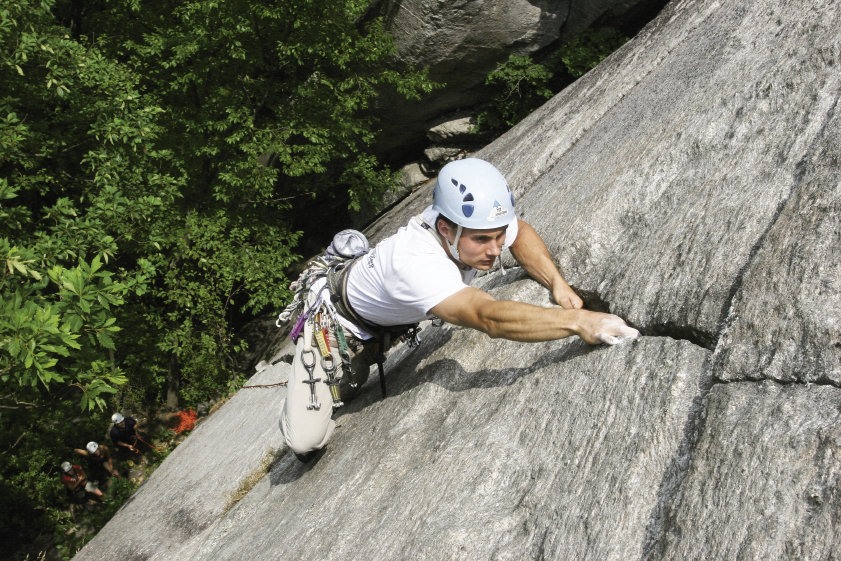 Climbing at Chimney Rock