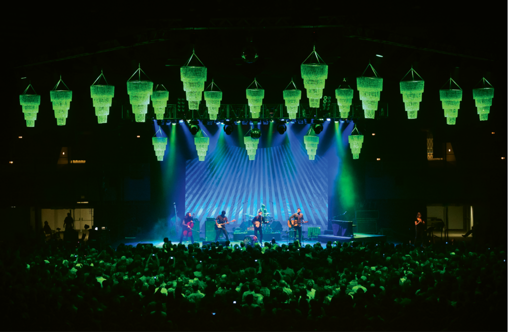 11. The Avett Brothers at Asheville's largest venue, the U.S. Cellular Center