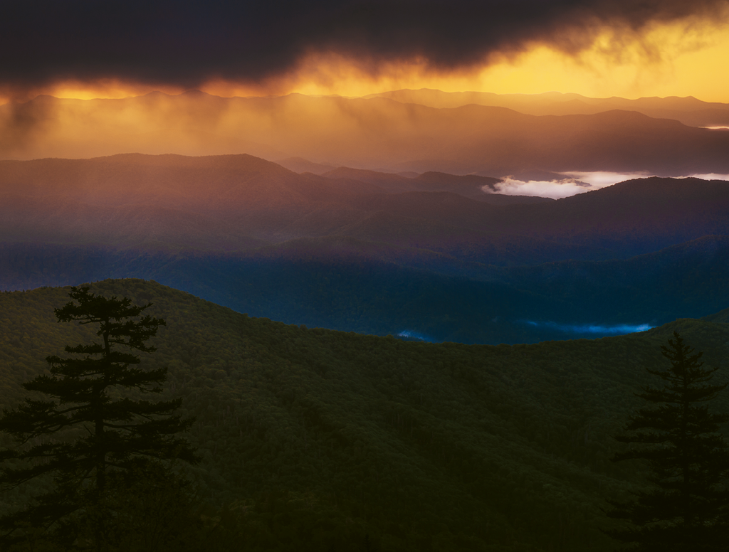 Segment 1 - Starting Out The view from Clingmans Dome in the Smokies, where the MST begins, provides an inspiring start for the hike ahead.