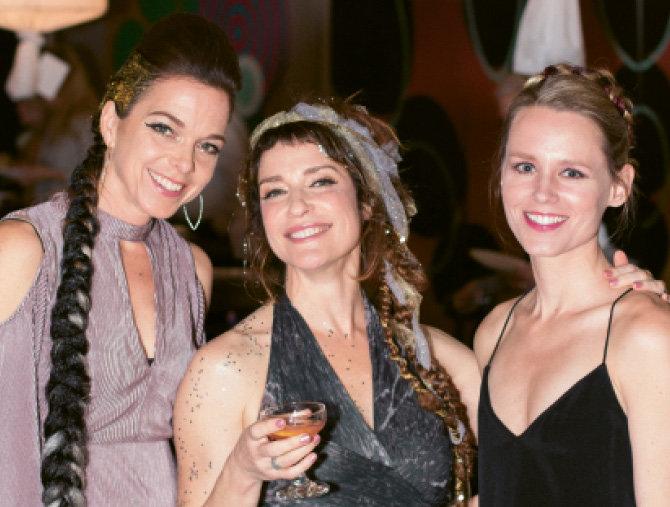 Natascha Leitner, OpenDoors' Executive  Director Jen Ramming, and Elizabeth Ponder