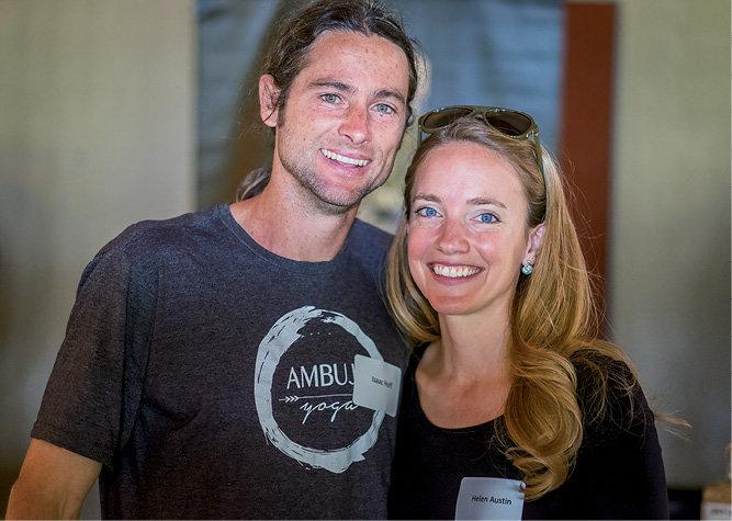 Isaac Hoff and Helen Austin