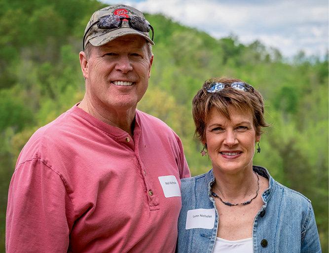 Nick and Lynn Nicholas