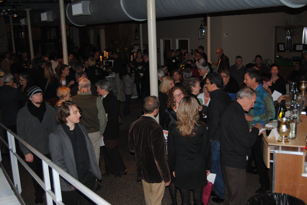 Guests at the seventh annual Doors of Asheville event