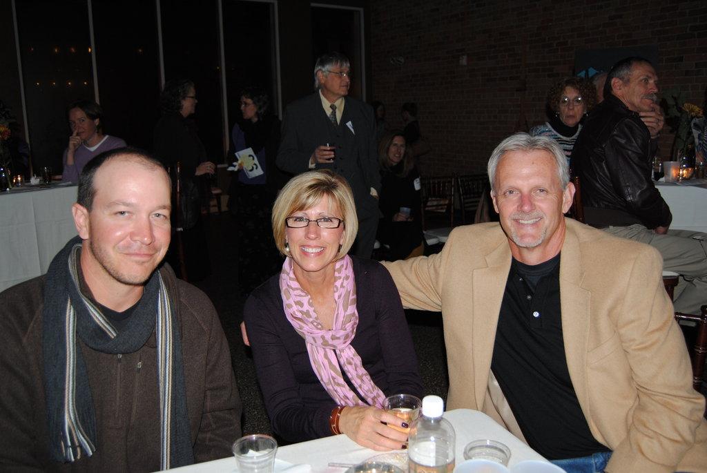 (L to R) Chris Bauer, Paula Estes, and Dan Estes of Weaver Cooke Construction