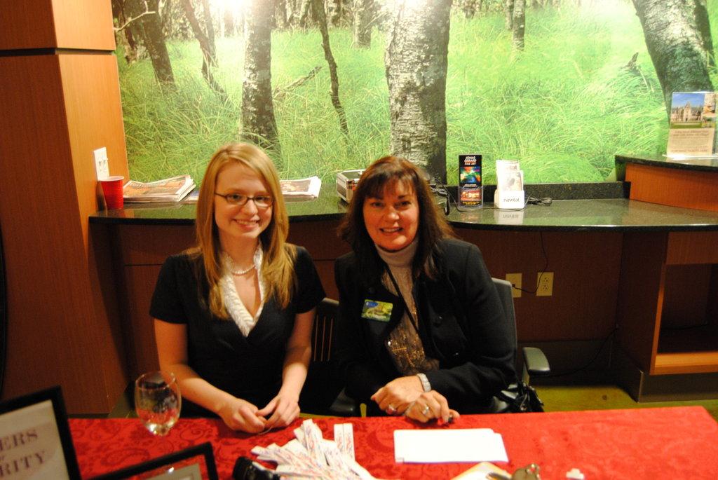 Kimberly Miller and Susan Newton