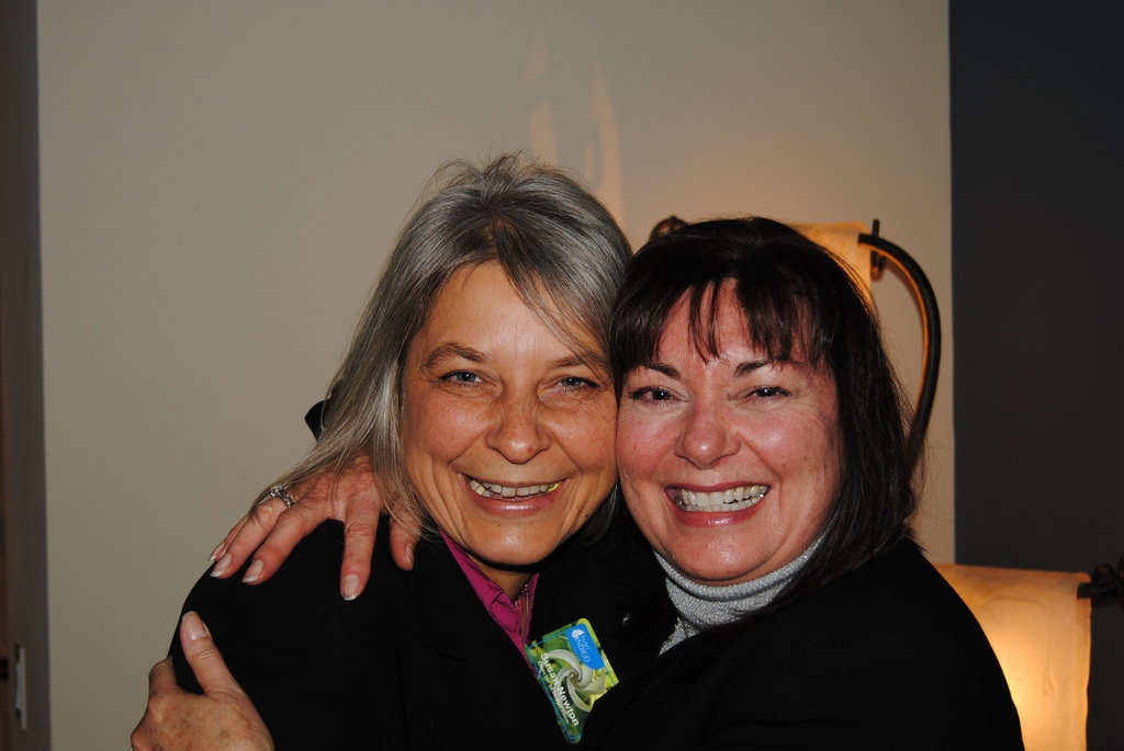 Barbara Kulwiec (left) and Susan Newton