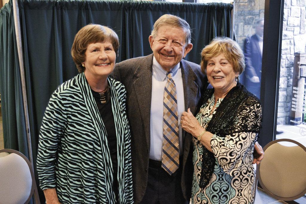 Ramona Presson with Bobby and Patsy Stokes