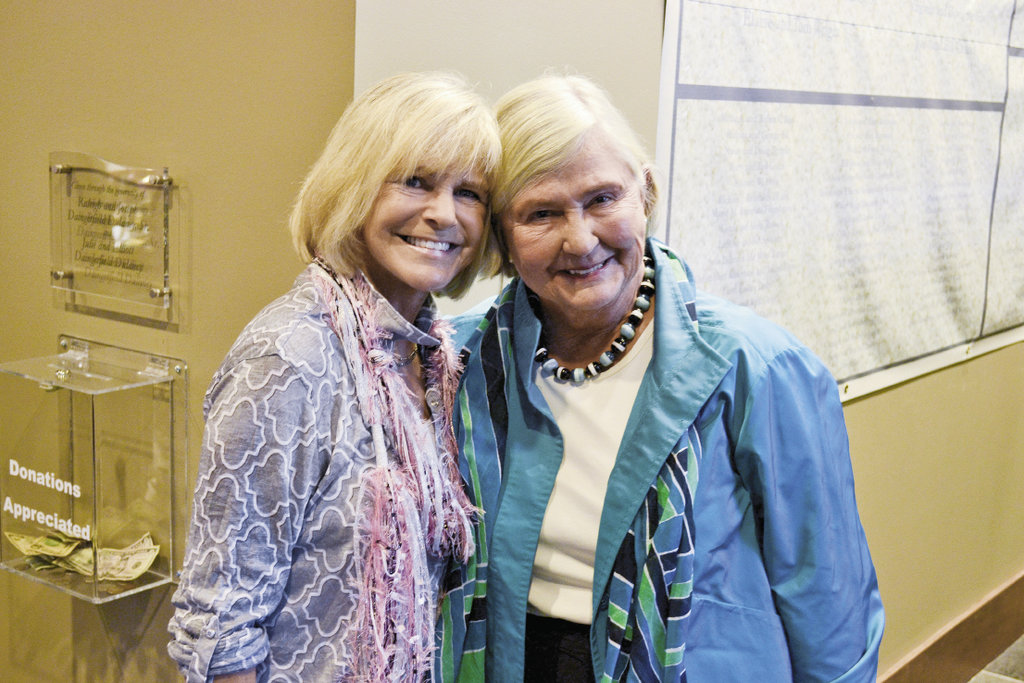 Linda Russell and Janet Wilson