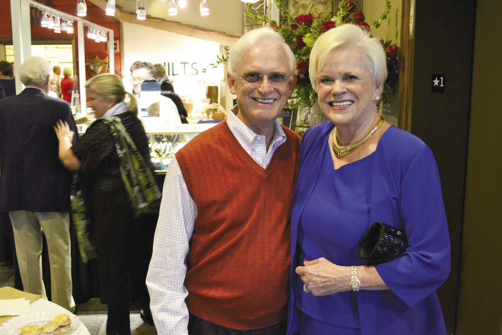 Bill Spooner and Ruth Ellen Weems