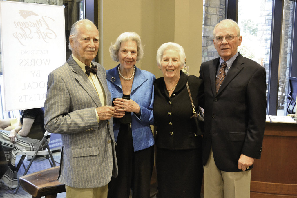 Jim and Jean Fort with Mary Bost and  Michael Gray
