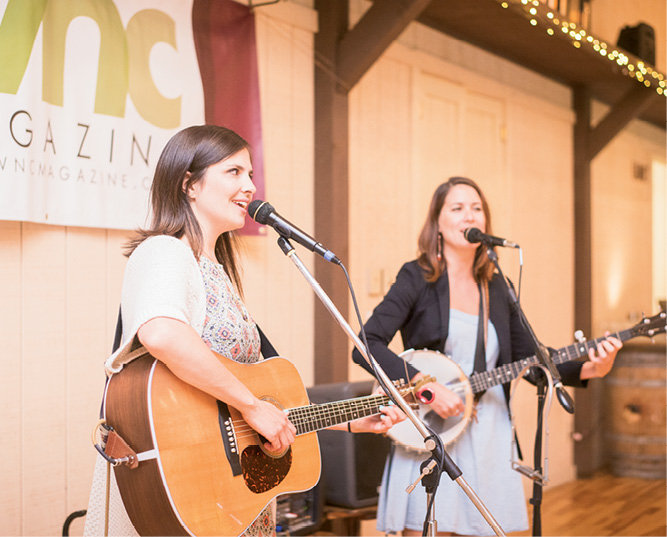 Molly Rose Reed and Eleanor Underhill of Underhill Rose entertained guests.