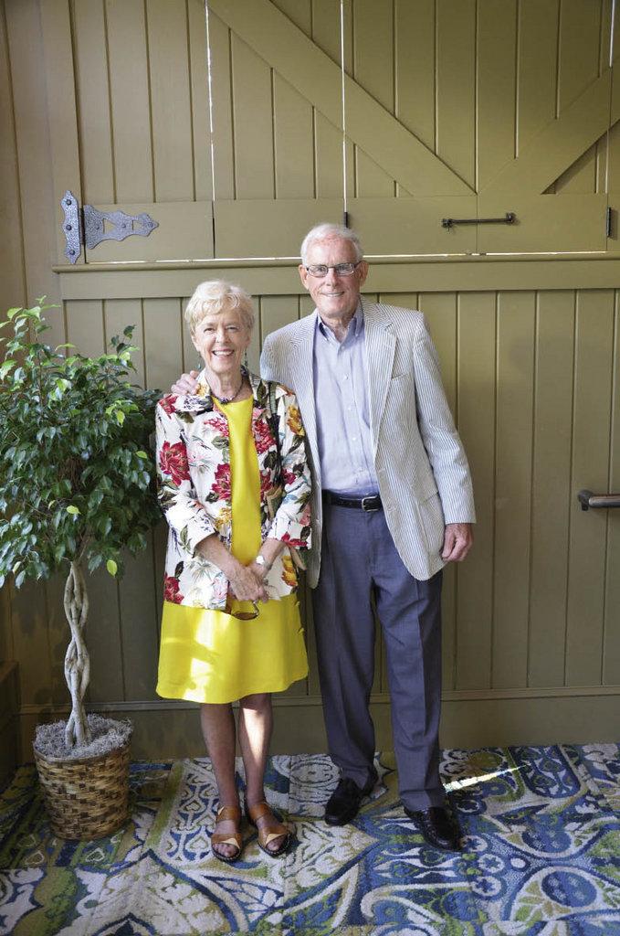 Glenda and Bob Burgin