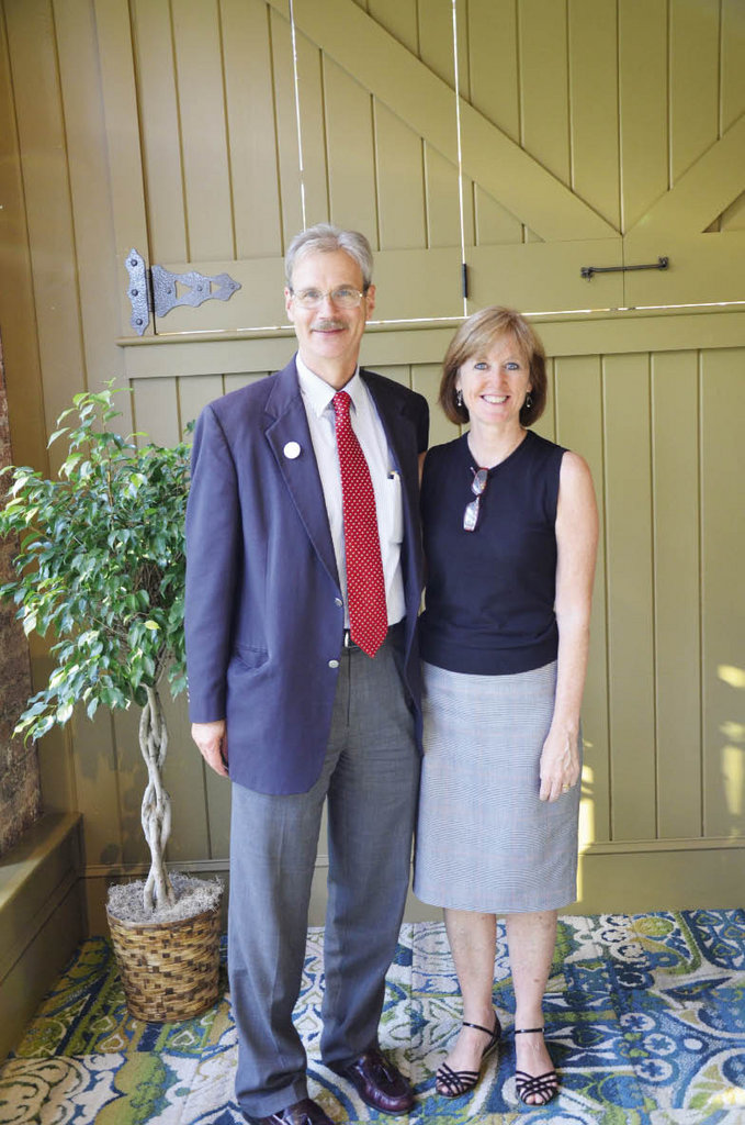 David Bailey, United Way of Asheville &  Buncombe County President & CEO, and  Sherrie Ryan-Bailey