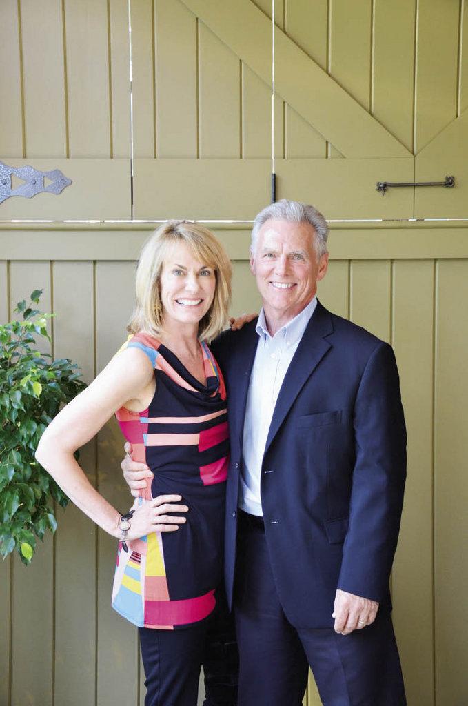 Tracy and Scott Buchanan