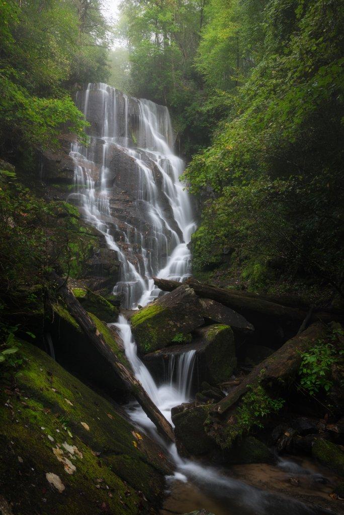 Eastatoe Falls near Brevard