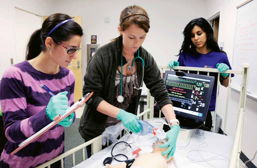 First responders: While today there are 20-some undergraduate EMC programs in the nation, WCU's, founded in 1976, was the first.