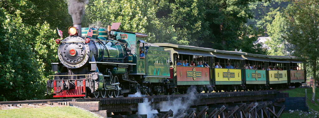 Ride the Rails: Tweetsie Railroad is loads of fun any time, but it can be markedly enjoyable during one of the many special events held throughout the year. Catch Grammy-winning artist David Holt and the Lightning Bolts on May 27. Day out with Thomas runs June 9-18.