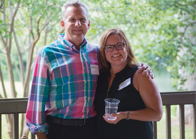 WNC account executives Mike Granger and Shannon Taylor